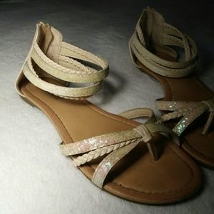 Strappy & Sparkly Sandals